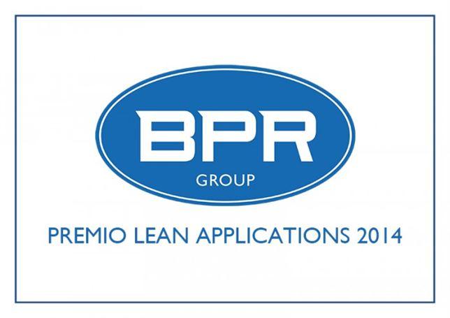 BPRGroup – Premio Lean Applications 2014