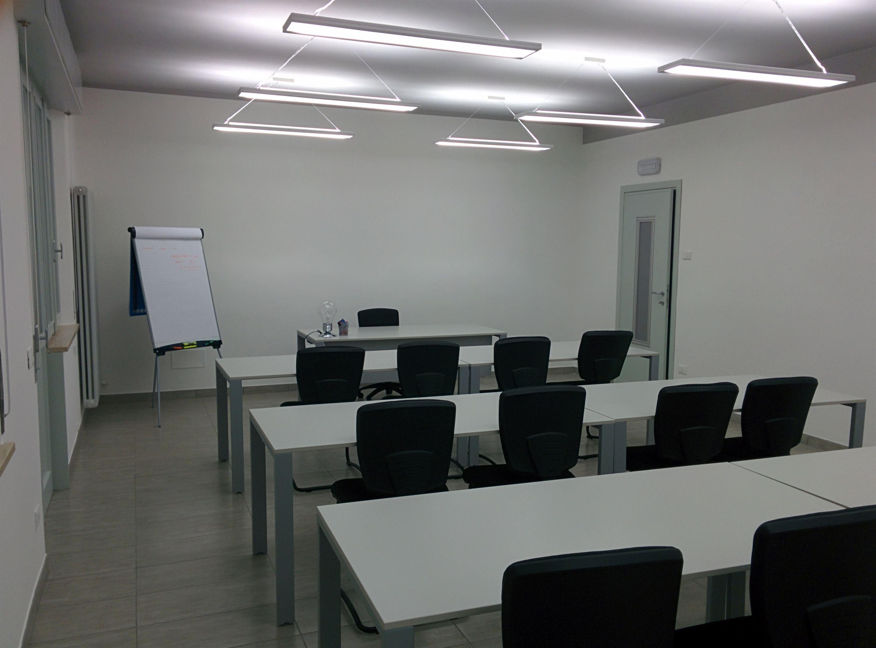 Foto sala formazione BPR Group