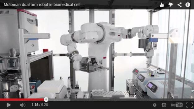 BPRGroup Engineering presenta il nuovo robot Yaskawa Biomedical