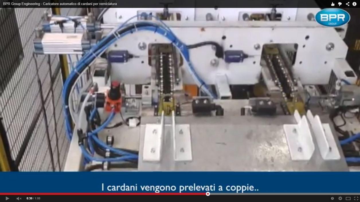 BPRGroup Engineering – Caricatore automatico di cardani