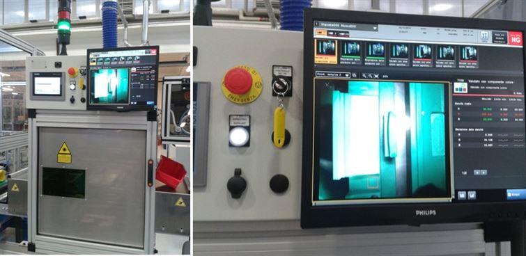 BPRGroup Engineering – Sistema di visione in una stazione di marcatura laser