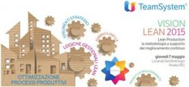 VISION LEAN 2015: La metodologia a supporto del miglioramento continuo. Reggio Emilia, 07/05/15