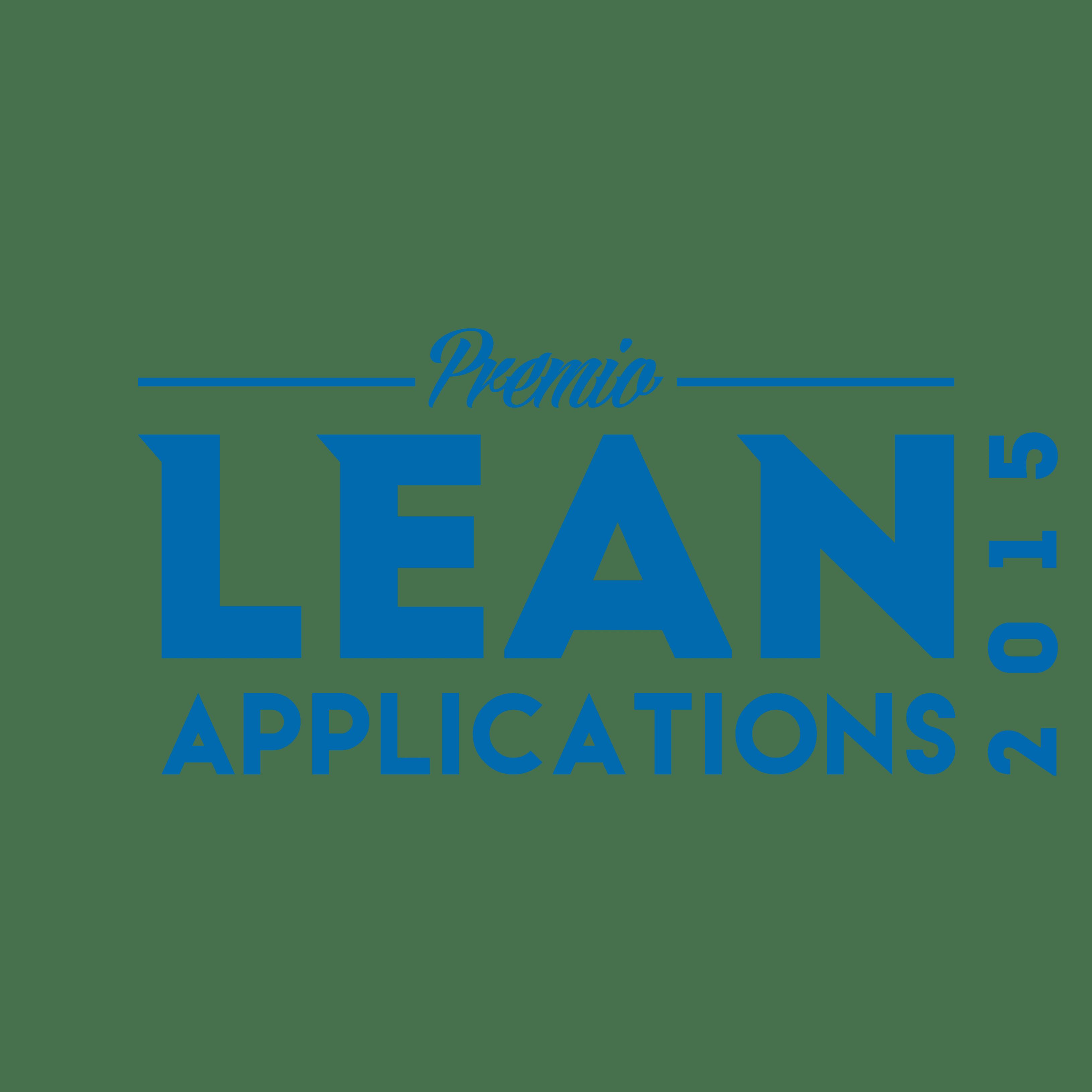Premio Lean Applications 2015
