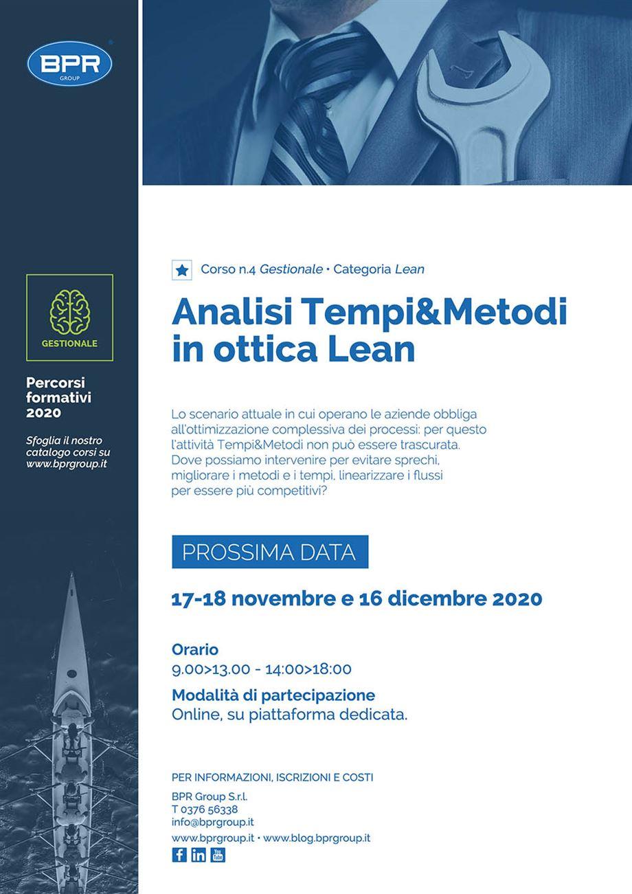 Corso Tempi&Metodi BPR