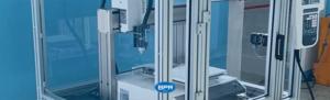 Applicazione industriale di incollaggio con l'utilizzo di desktop robot