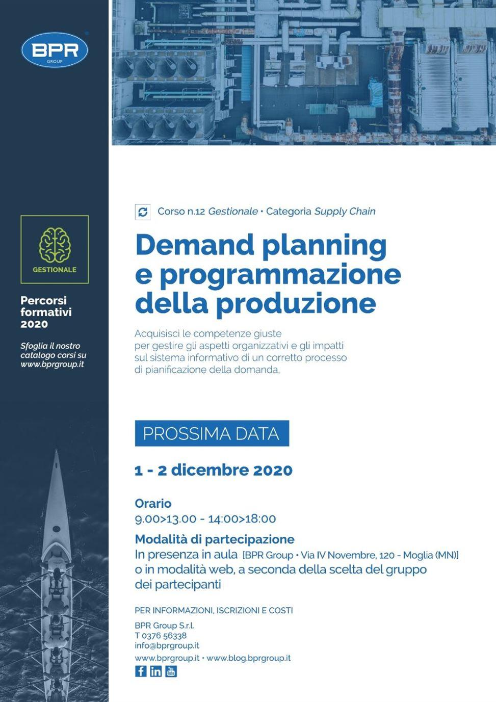 Corso Demand Planning